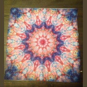 (2) Bohemian Tye Dyed Throw Pillow Case Covers
